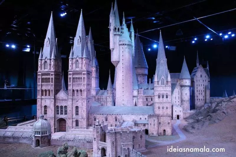 Castelo Hogwarts -  Making Off Harry Potter