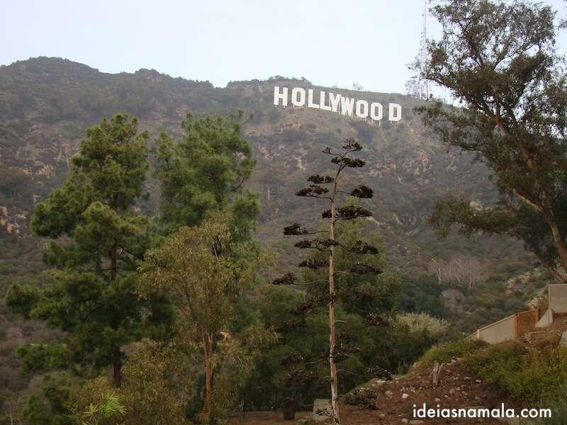Placa de Hollywood em Los Angeles