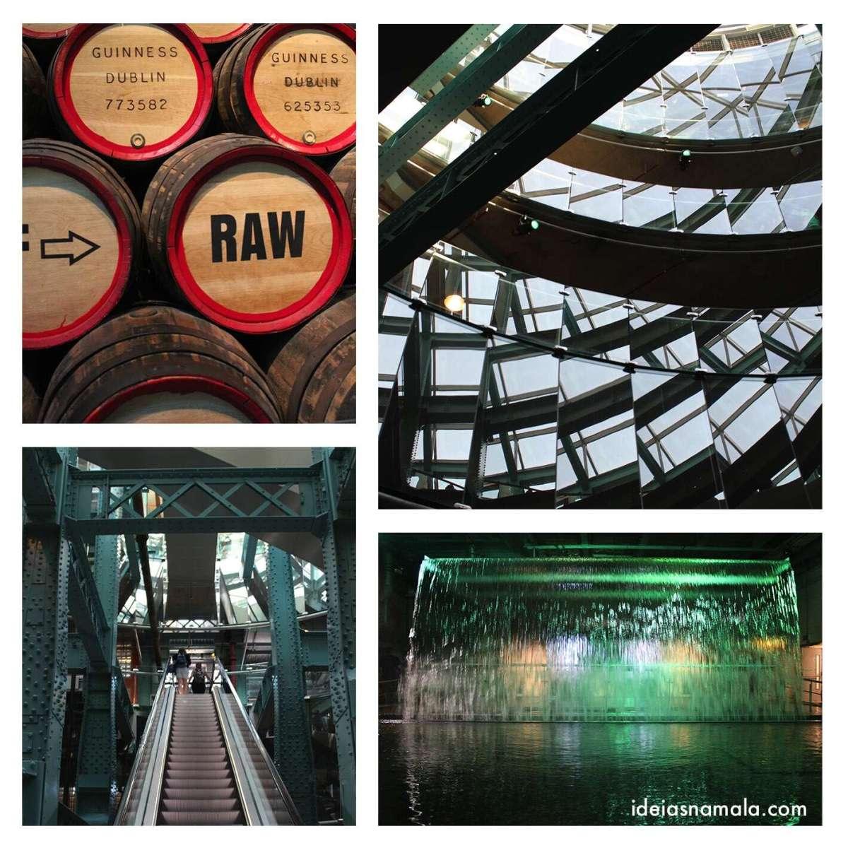 Detalhes da Fábrica da Guinness - Guinness Storehouse
