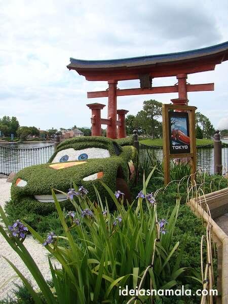 Carros no festival dos jardins