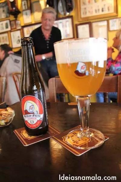 Cerveja em Bruxelas