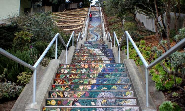 Mosaic Steps em San Francisco