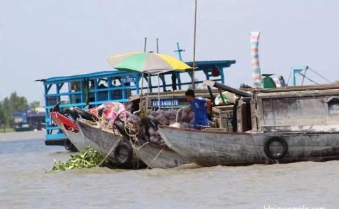 f983a072e5b Delta do Mekong  o mercado flutuante de Cai Be e arredores