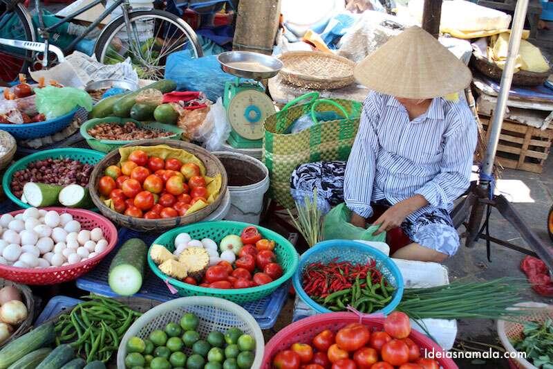 Mercado em Hoi An