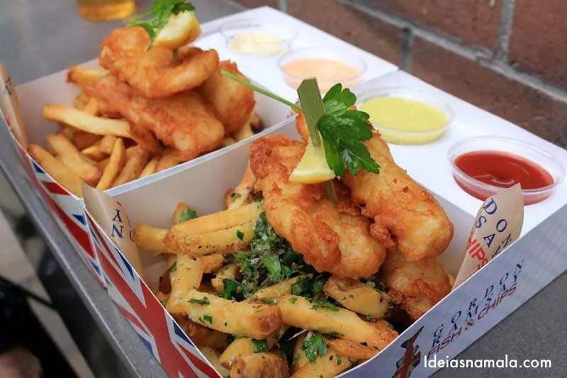 Fish & Chips do Gordon Ramsay