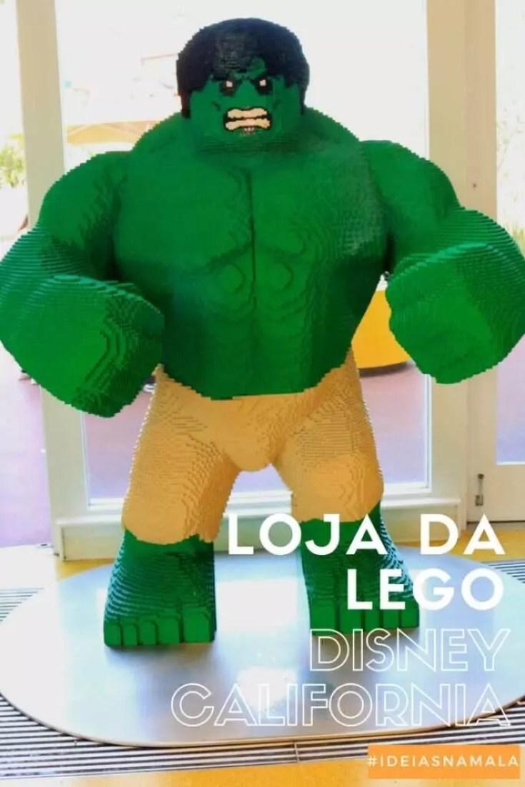 Loja da Lego na Downtown Disney California