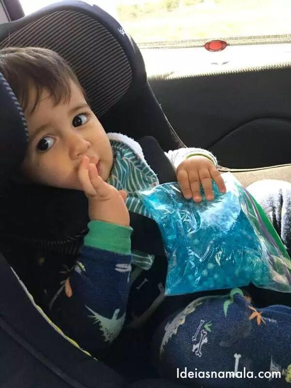 viagens de carro com bebê