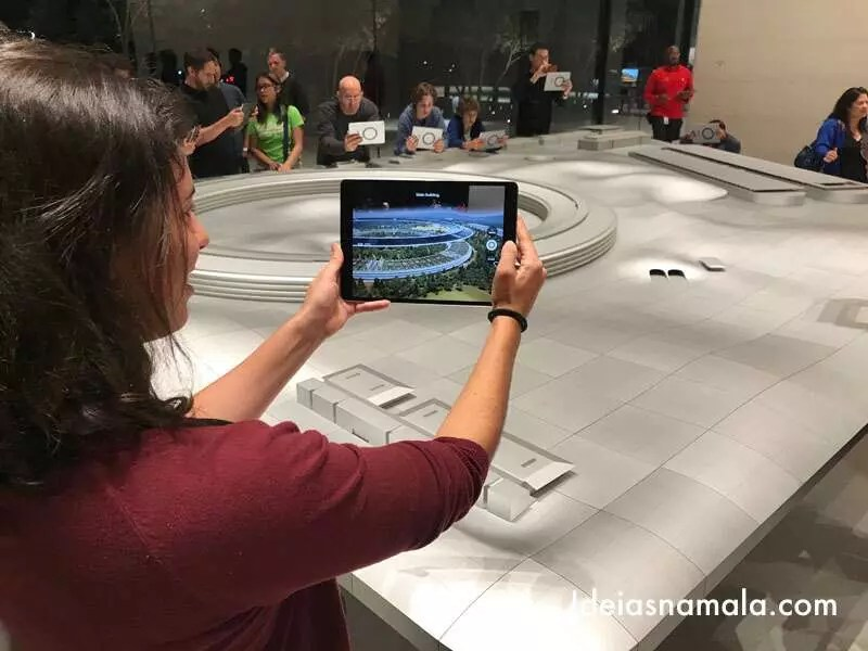 Maquete do Apple Park