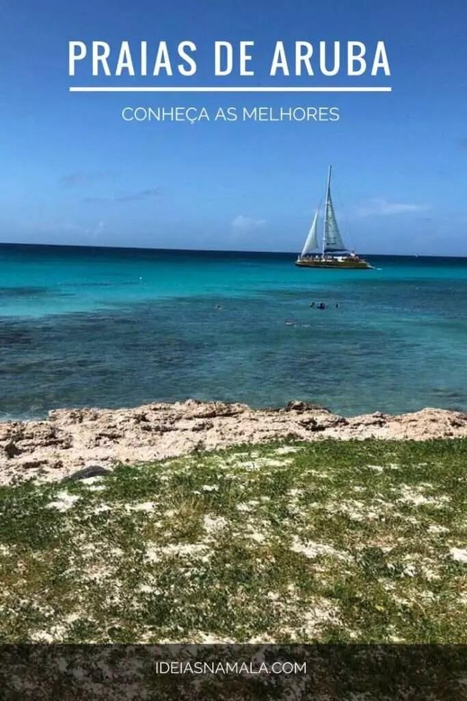 Conheça as melhores praias de Aruba, um guia completo para você aproveitar as melhore praias da ilha mais feliz do mundo! Arashi Beach, Palm Beach, Baby Beach, Ilha particular do Reinaissance e muito mais!
