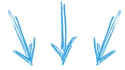setas azul curso facebook premiun