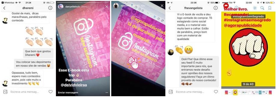 clientes instagram sem segredos