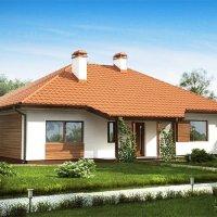 Proiect casa doar cu parter cu suprafata utila de 125 mp