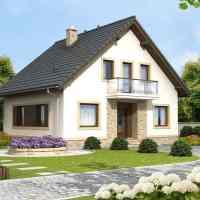 Proiect casa P + M de 117 mp. 4 dormitoare, doua bai si o arhitectura de poveste