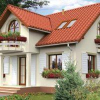 Casa cu mansarda cocheta de 139 mp: planuri, poze si pret estimativ de constructie