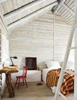 Interioare de vis din cabane rustice de lemn 16
