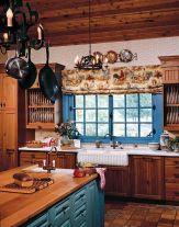 Interioare de vis din cabane rustice de lemn 18