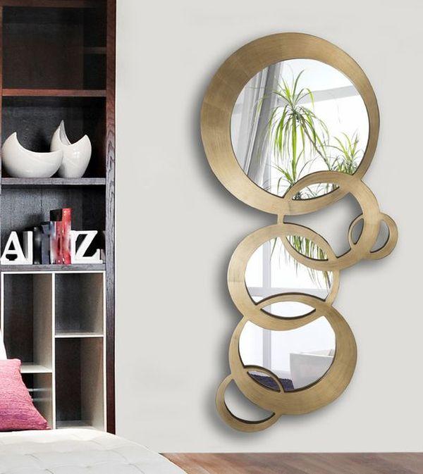 Oglinda un detaliu simplu care confera eleganta for Espejos redondos decorativos