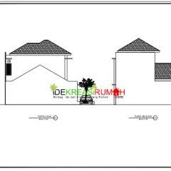 Contoh Rangka Atap Baja Ringan Minimalis Gambar Kerja Rumah 2 Lantai Modern | Ide ...