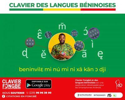Clavier Fongbé et des langues béninoises