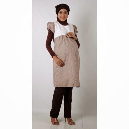 Contoh Model Baju Hamil Muslim