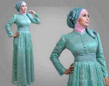 Contoh-Model-Desain-Baju-Muslim-Brokat-Terbaru-2015-7-Model-hijab-busana-muslim-brokat-terbaru-modern