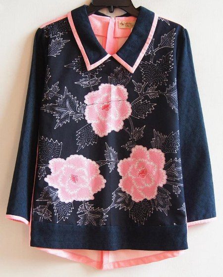 Rose Collared Tops