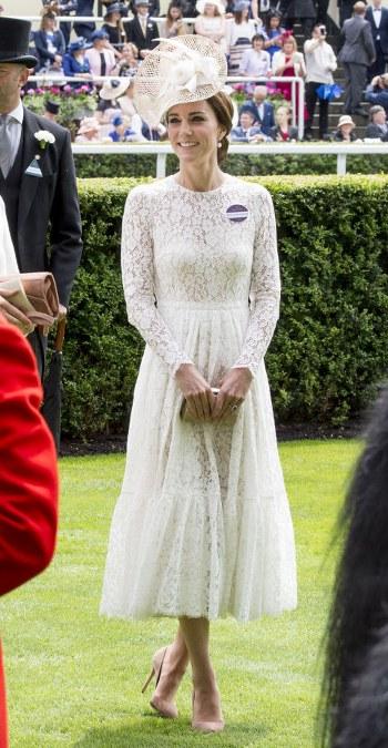 dreamy Dolce & Gabbana lace dress and Jane Taylor hat_350x675