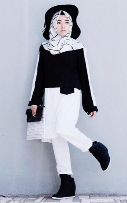 Fashion Hijab Kasual Untuk Remaja Modern Ide Model Busana