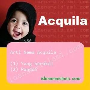 arti nama Acquila