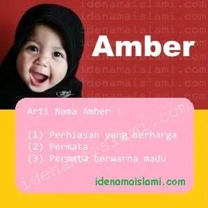 arti nama Amber
