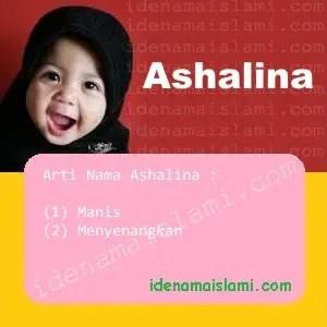 arti nama Ashalina