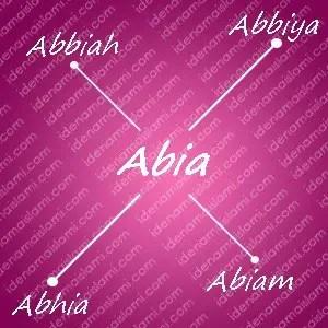 variasi arti nama abia untuk nama bayi perempuan islami