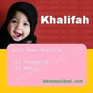 arti nama Khalifah