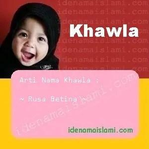 arti nama Khawla