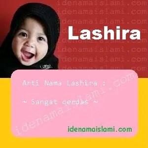 arti nama Lashira