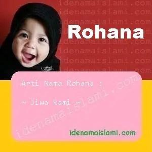 arti nama Rohana