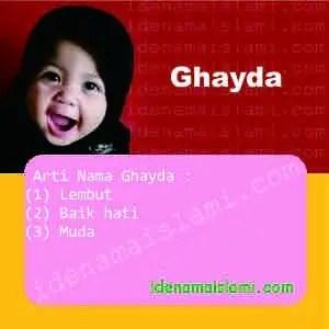 Arti Nama Ghayda