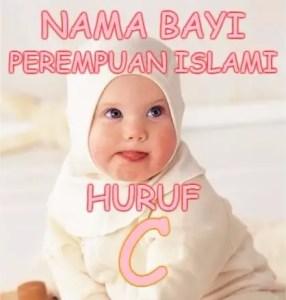 Nama Bayi Perempuan Islami Huruf C