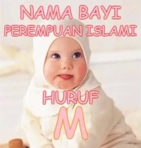 Nama Bayi Perempuan Islami Huruf M