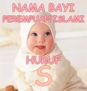 Nama Bayi Perempuan Islami Huruf S