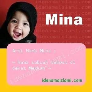 arti nama Mina