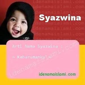 arti nama Syazwina