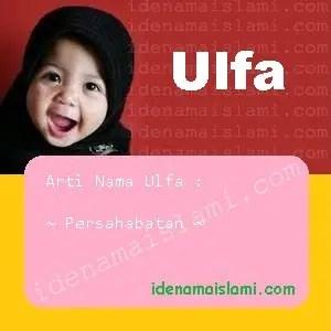 arti nama Ulfa