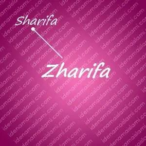variasi arti nama Zharifa untuk nama bayi perempuan islami