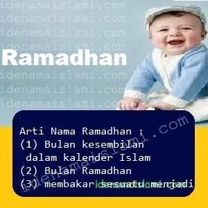 arti nama Ramadhan