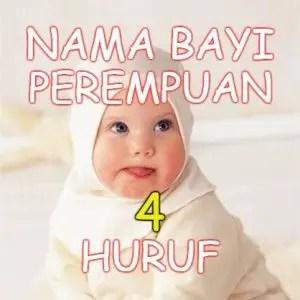 Nama Bayi Perempuan Islami 4 Huruf | IdeNamaIslami.com