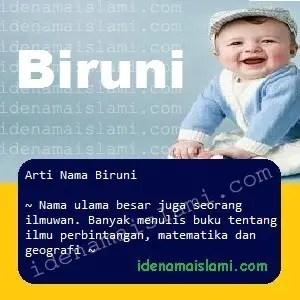 arti nama Biruni