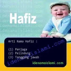 arti nama Hafiz