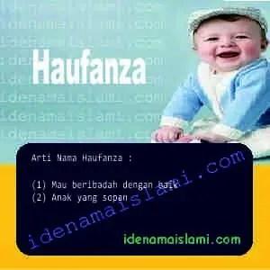 arti nama Haufanza