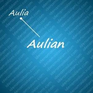 variasi arti nama Aulian untuk nama bayi laki laki islami